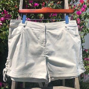 Women's Willi Smith Stretch Shorts w/Side Ties